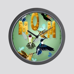 MOM-For to the birds Wall Clock