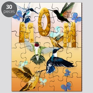 MOM-For to the birds on yellow Puzzle