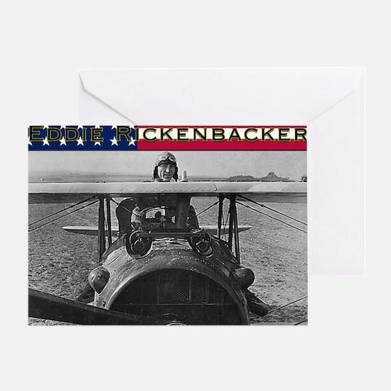 Eddie Rickenbacker-4 Greeting Card