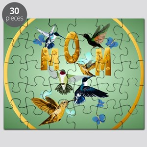 Circle MOM-For to the birds Puzzle
