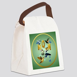 Circle MOM-For to the birds Canvas Lunch Bag
