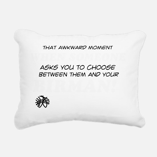 Funny gifts for the Birm Rectangular Canvas Pillow