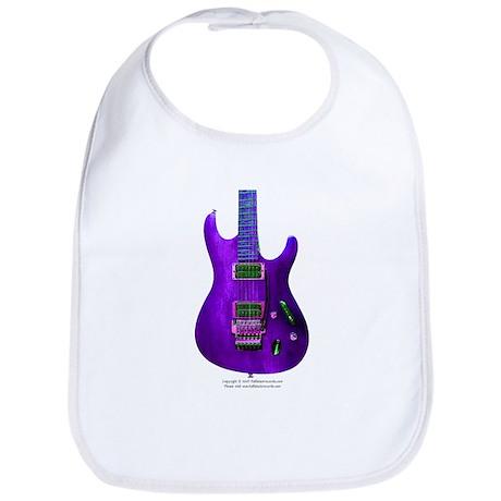 """""""Refl. Purple"""" Guitar Bib"""
