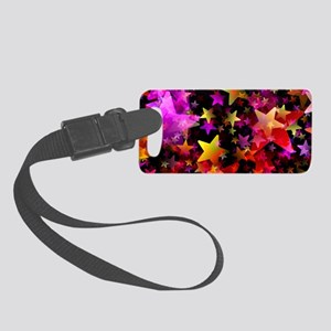 Rainbow Stars Small Luggage Tag