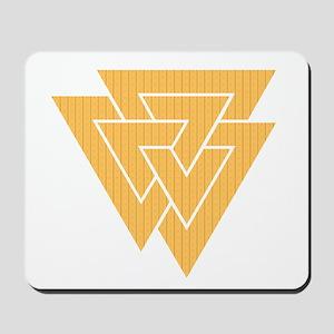 Valknut Symbol Mousepad