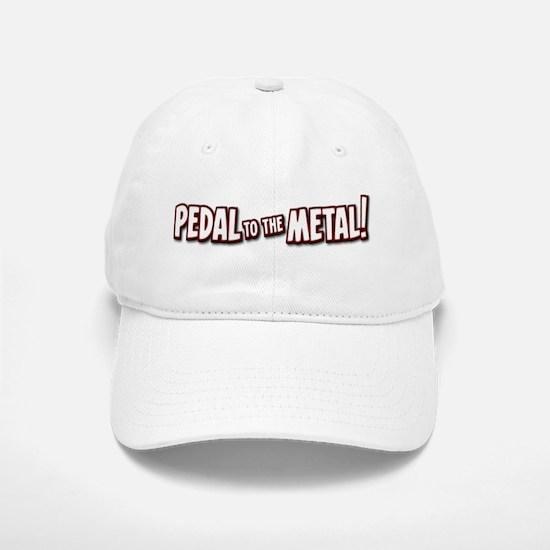 PEDAL to the METAL! - 1 Baseball Baseball Baseball Cap
