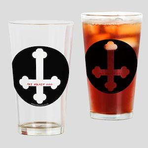 Art Pirate Inverted Cross Drinking Glass