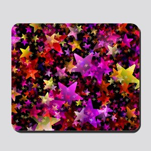 Rainbow Stars Mousepad