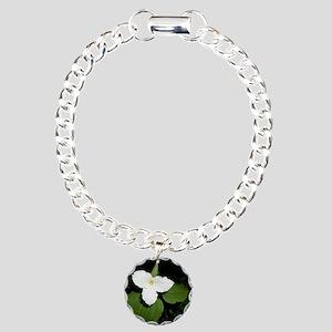 trillium Charm Bracelet, One Charm