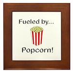 Fueled by Popcorn Framed Tile