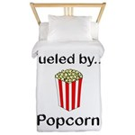 Fueled by Popcorn Twin Duvet