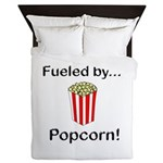Fueled by Popcorn Queen Duvet