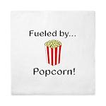 Fueled by Popcorn Queen Duvet
