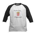 Fueled by Popcorn Kids Baseball Jersey