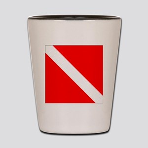 Dive Flag 1 Shot Glass