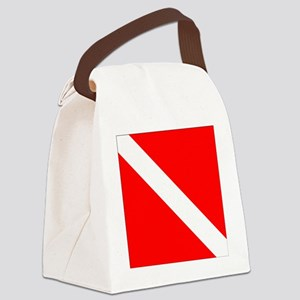 Dive Flag 1 Canvas Lunch Bag