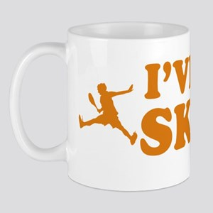 Cool Racquetball vector designs Mug