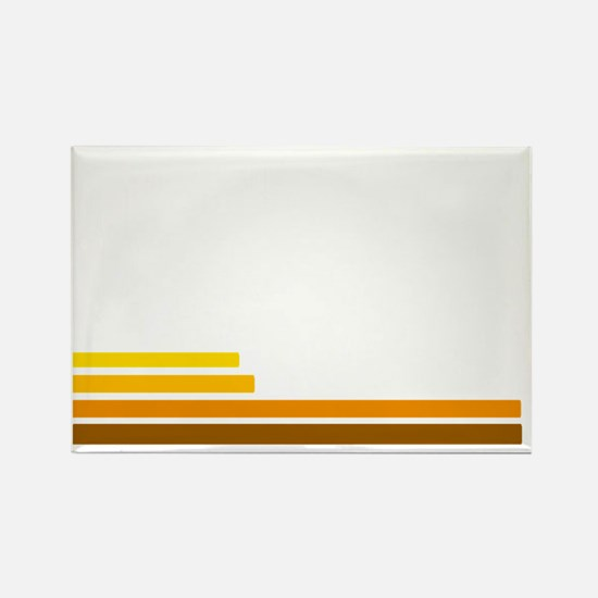 70s Rectangle Magnet