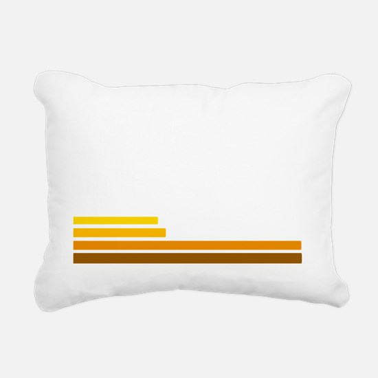 70s Rectangular Canvas Pillow
