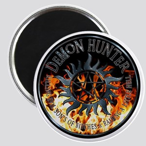 Demon hunter protection Symbal Ring Patch F Magnet