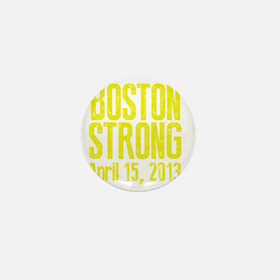 Boston Strong - Yellow Mini Button