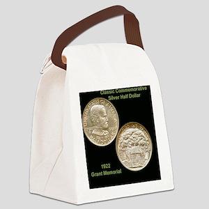 Grant Memorial Half Dollar Coin  Canvas Lunch Bag