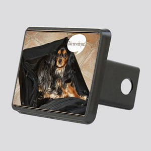 Take Me With You Spaniel O Rectangular Hitch Cover