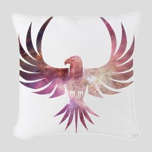 Bird of Prey Woven Throw Pillow