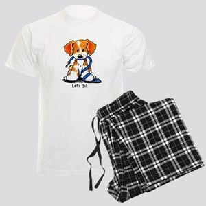 French Brittany Let's Go! Men's Light Pajamas