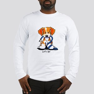French Brittany Let's Go! Long Sleeve T-Shirt