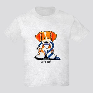 French Brittany Let's Go! Kids Light T-Shirt