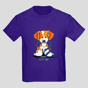 Let's Go! Brittany Kids Dark T-Shirt