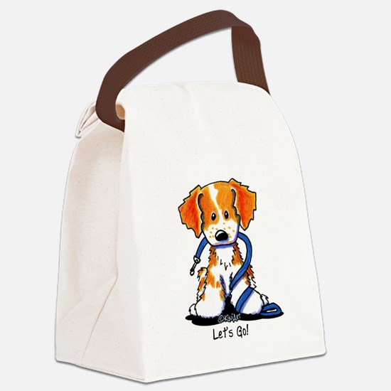 Let's Go! Brittany Canvas Lunch Bag