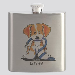 French Brittany Let's Go! Flask