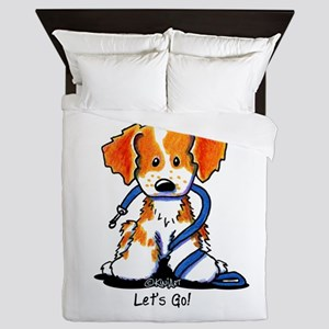 French Brittany Let's Go! Queen Duvet