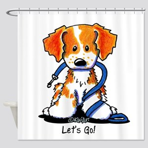 French Brittany Let's Go! Shower Curtain