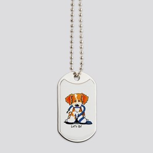 French Brittany Let's Go! Dog Tags