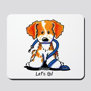 French Brittany Let's Go! Mousepad