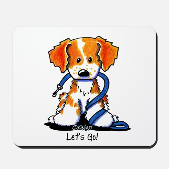 Let's Go! Brittany Mousepad