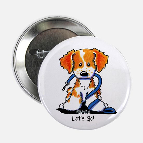 """Let's Go! Brittany 2.25"""" Button"""