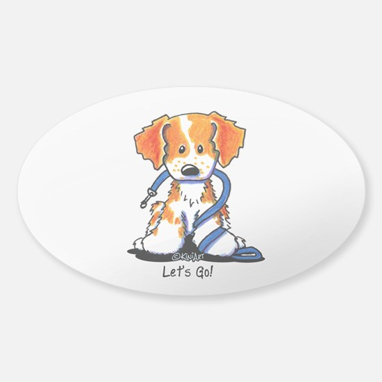 Let's Go! Brittany Sticker (Oval)