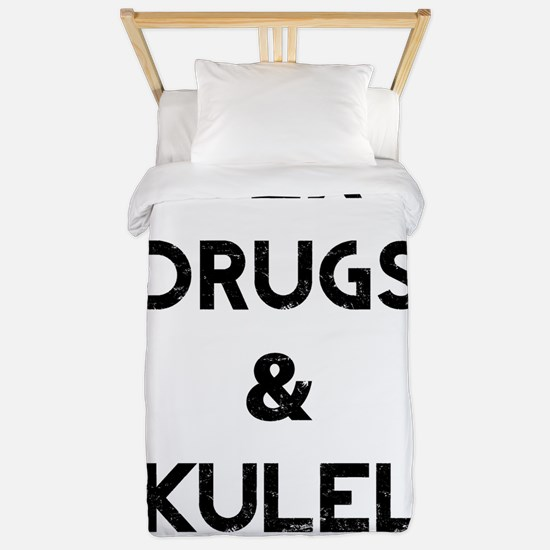 Sex Drugs Ukulele Twin Duvet