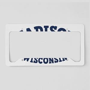 souv-whale-madison-CAP License Plate Holder
