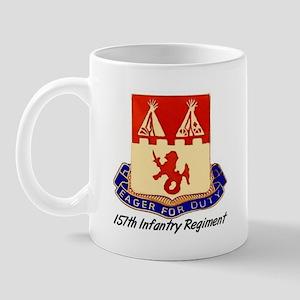 Mug w/ 157th Crest & Thunderbird