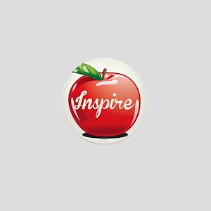 Inspire Apple for Teacher Mini Button