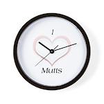 Mixed 4 Wall Clock