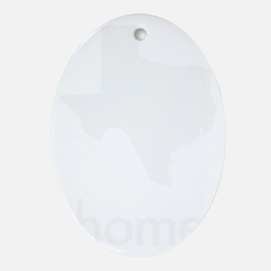Home Oval Ornament