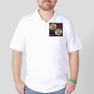 Lynchburg VA Sesquicentennial Half Doll Golf Shirt