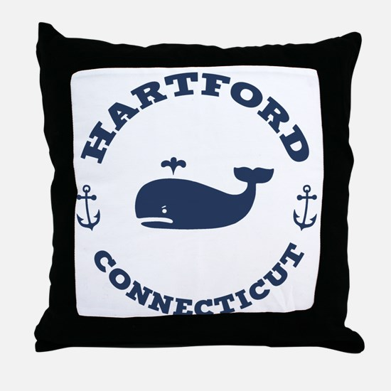 souv-whale-hartford-LTT Throw Pillow