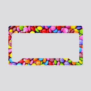 Colorful Candies License Plate Holder